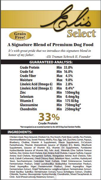 Beaver Dam Grain Free Dog Food
