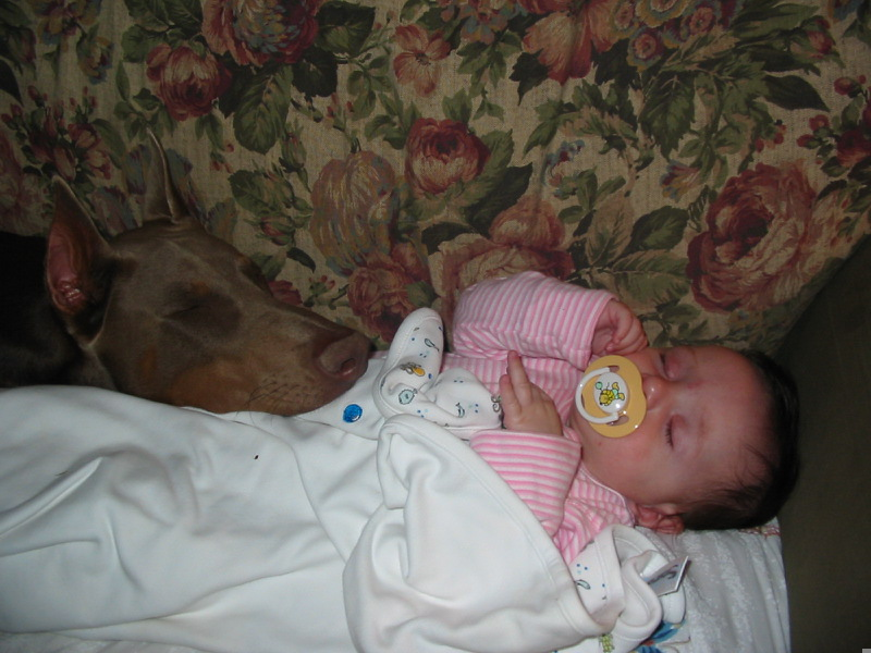Bella And Baby Sleeping