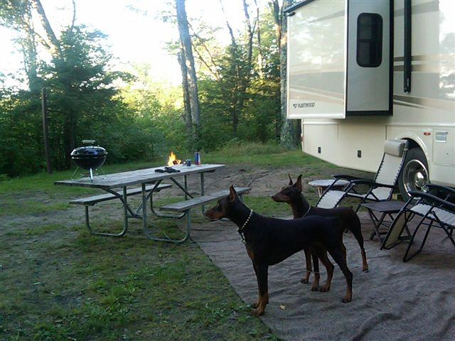Camping Summer 2009