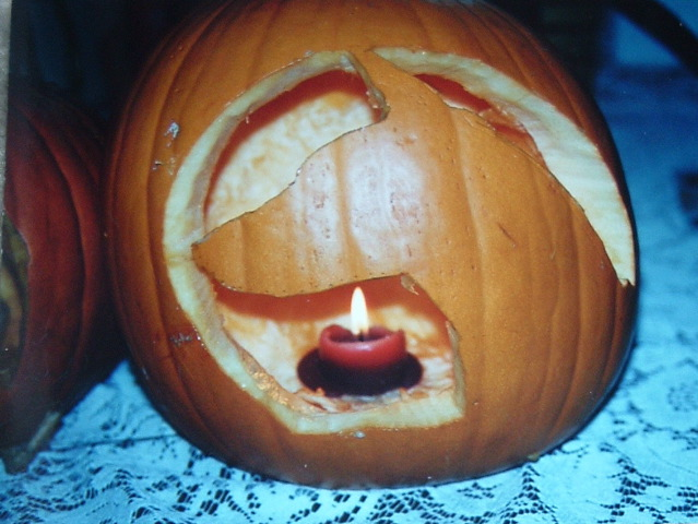 Doberman Jack-o-lantern