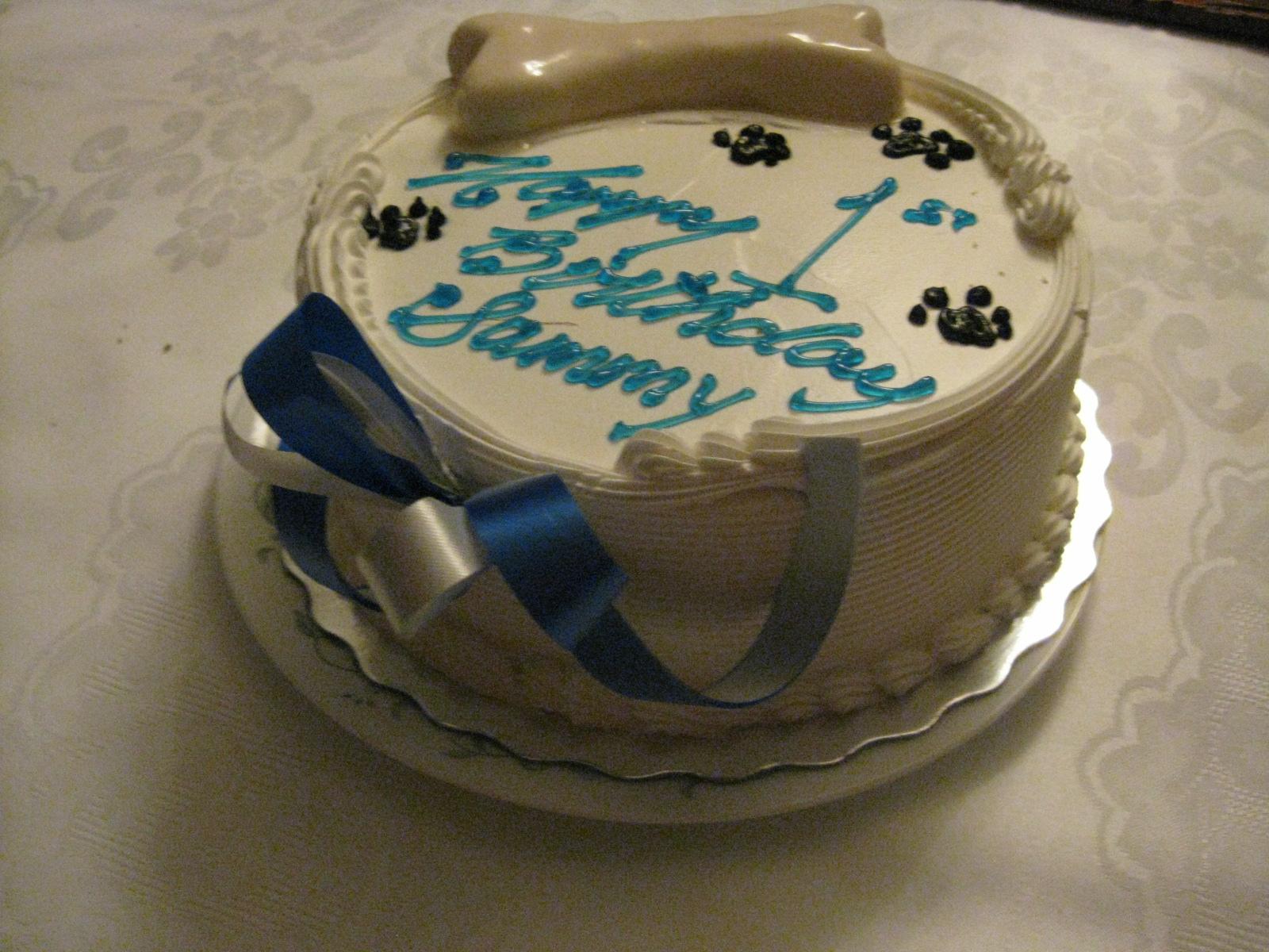Sammy's First Birthday Cake